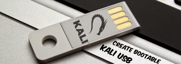 install kali linux on usb
