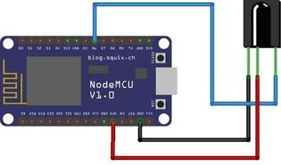 NodeMCU V3 IR control