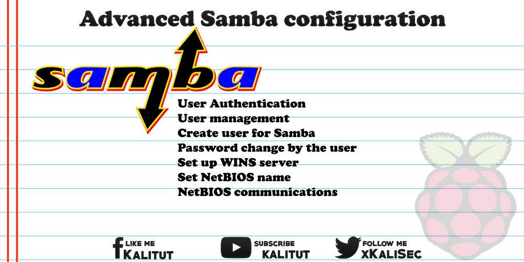 Advanced Samba configuration