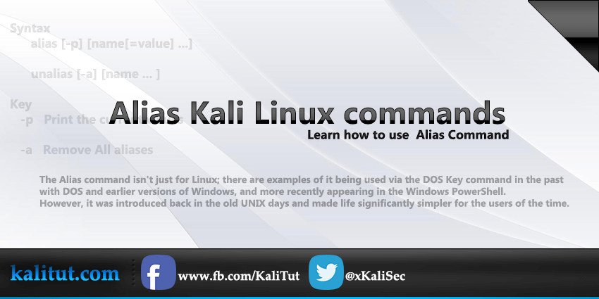 linux alias command