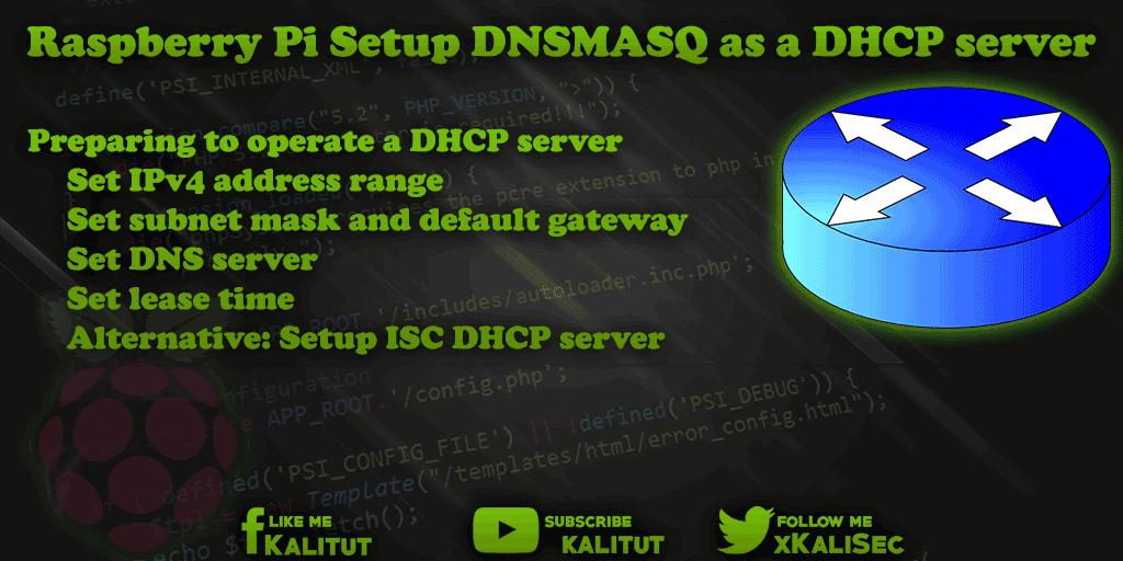 DNSMASQ as a DHCP server