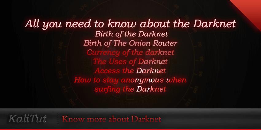 What is darknet