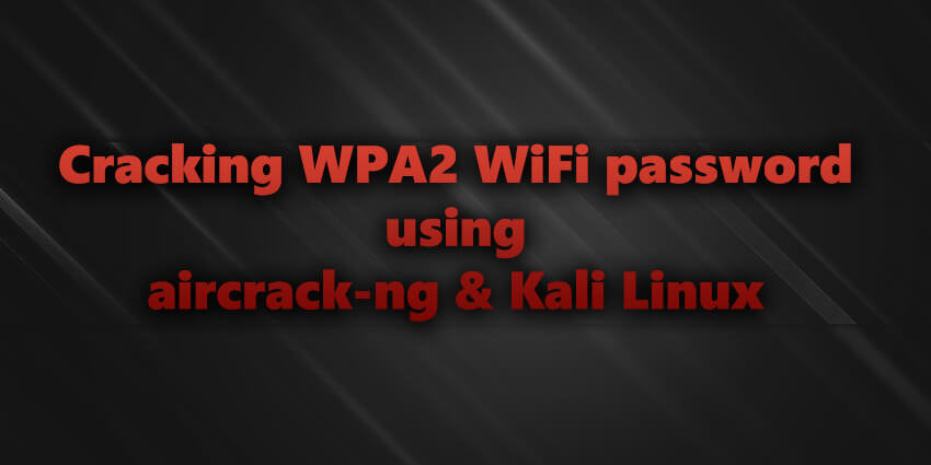 how to crack WPA2