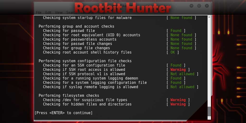 How to install rkhunter
