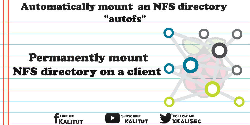 "mount/unmount an NFS directory with ""autofs"""