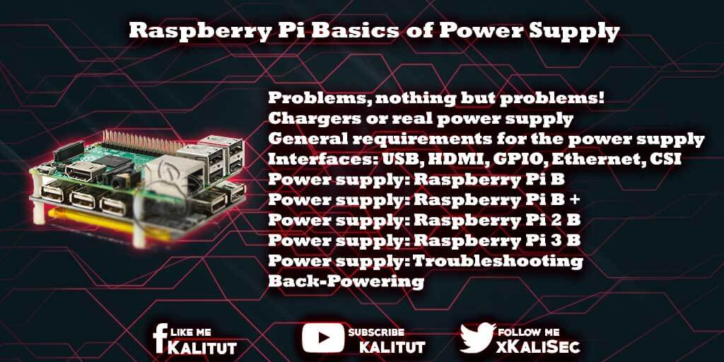 Raspberry Pi Power Supply Basics