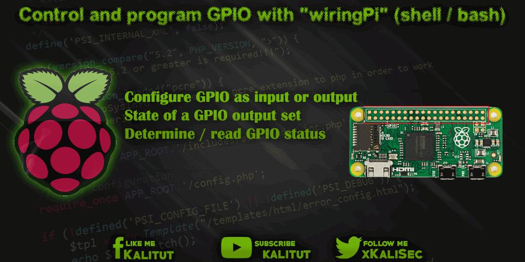 raspberry pi install wiringpi