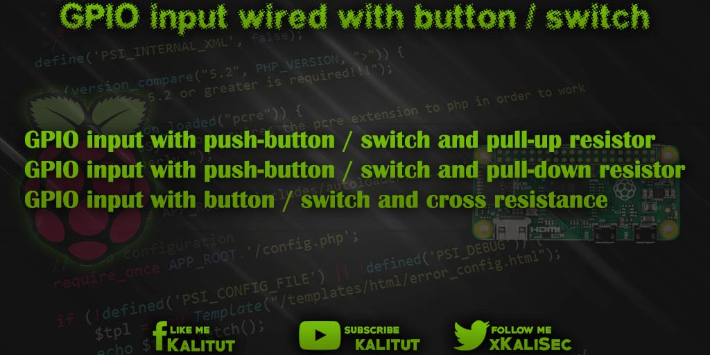 Raspberry Pi GPIO input
