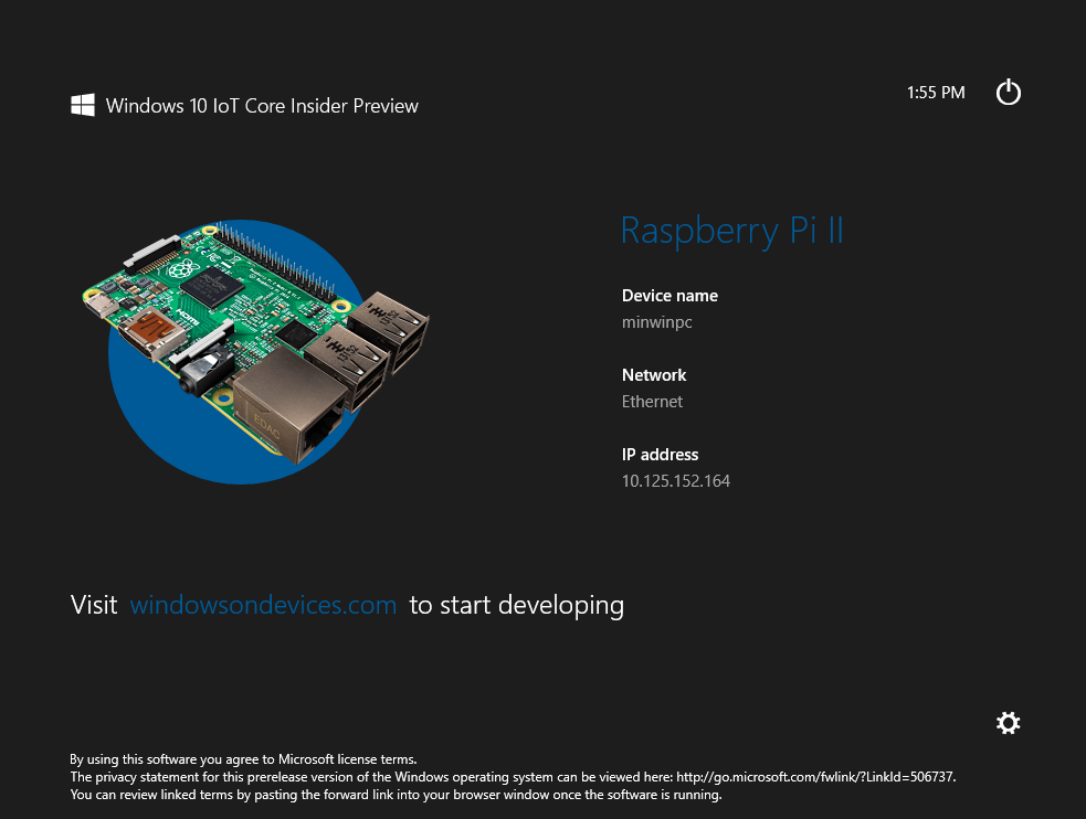 Raspberry Pi Windows 10