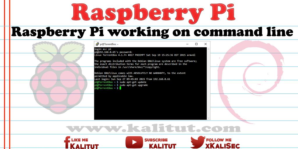 RaspberryPi-command-line