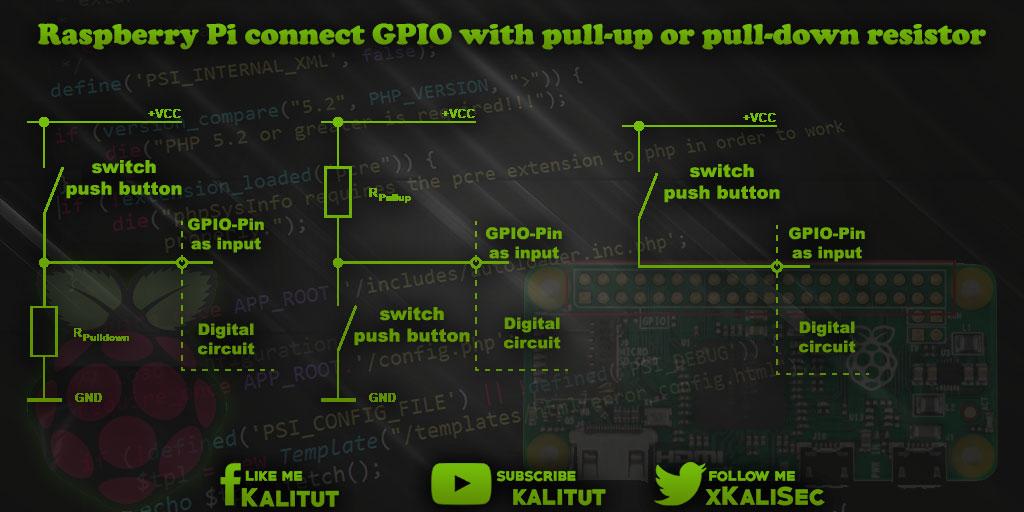 Raspberry Pi GPIO resistor