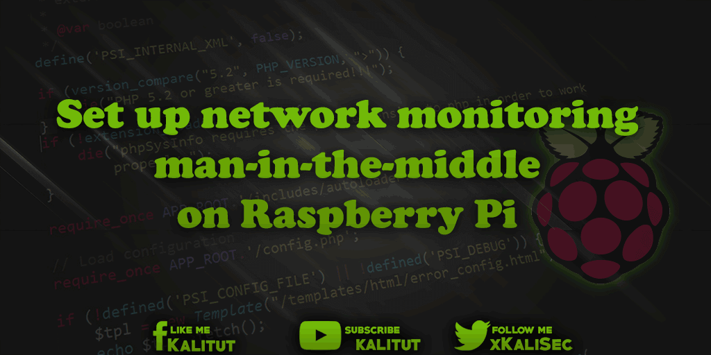 Raspberry Pi man in the middle