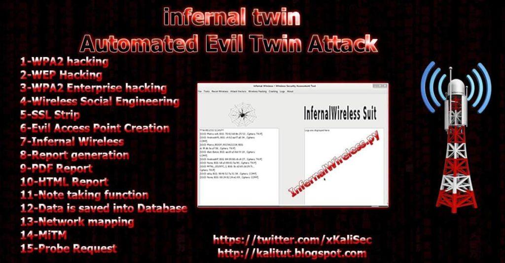 evil twin attack kali