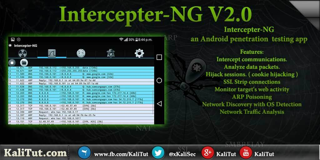 intercepter ng