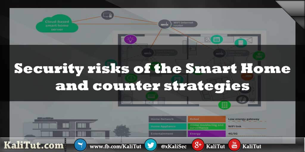 Security risks of the Smart Home