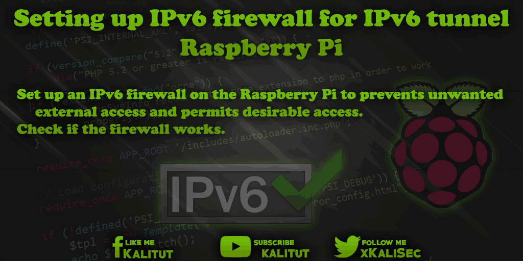 Raspberry Pi as an IPv6 tunnel