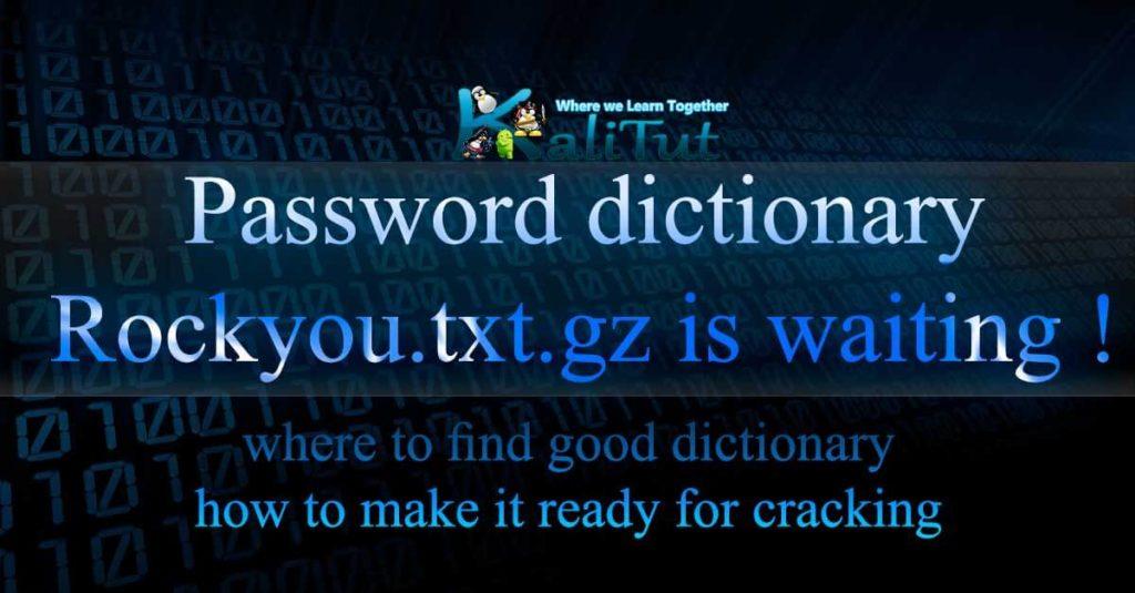 rockyou password list