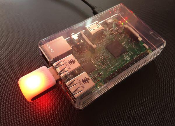 flashing led raspberry pi