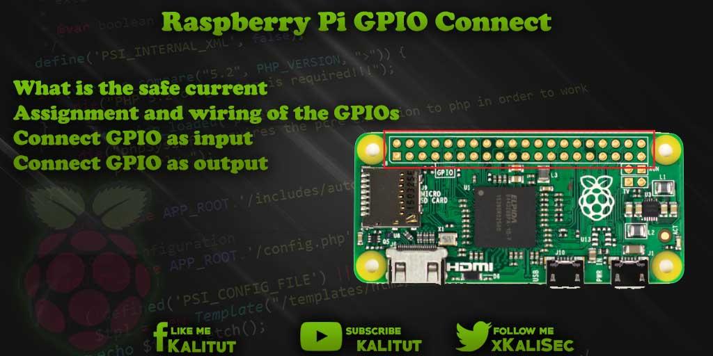 Raspberry Pi GPIO connect