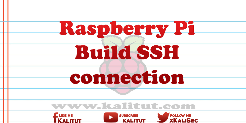 Connecting to raspberry pi via ssh