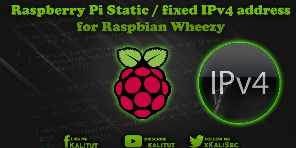 raspbian set static ip