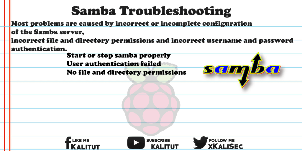 Samba Troubleshooting