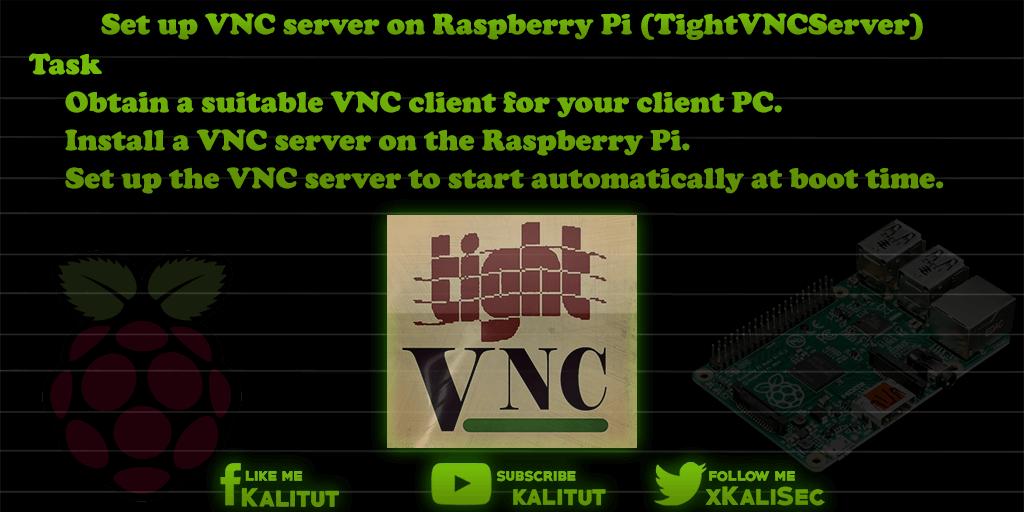 vnc server raspberry pi