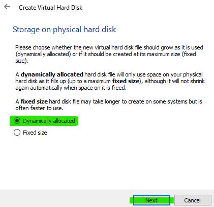 install ubuntu virtualbox