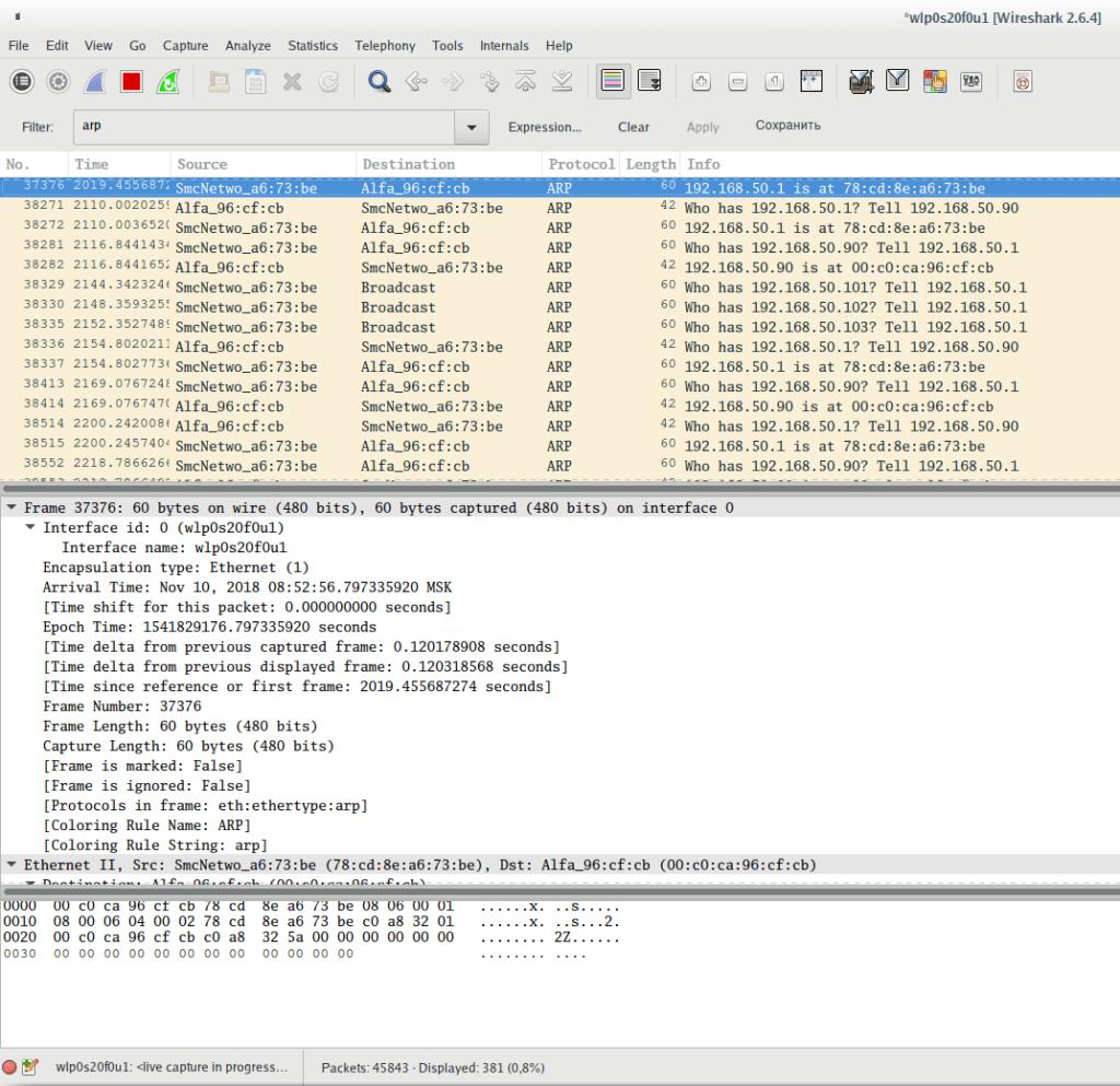 Link Layer Protocol Traffic