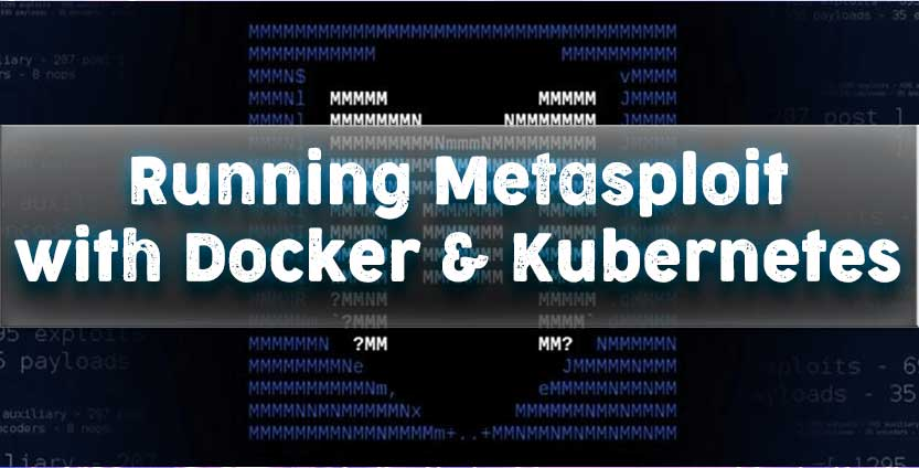 kali metasploit docker