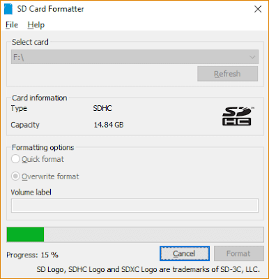 Preparation Sd card for Raspberry Pi