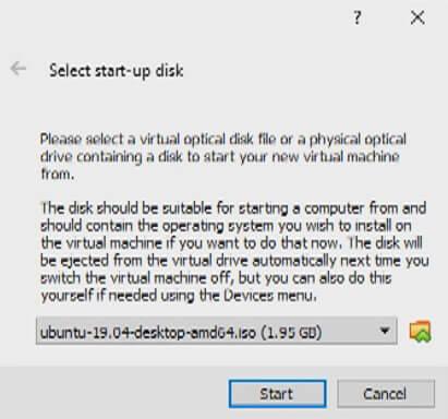 ubuntu installation disk image