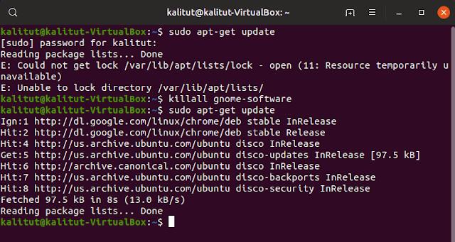 Ubuntu system update