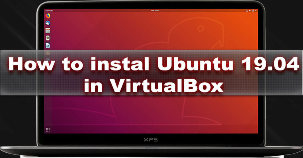 install ubuntu in virtualbox