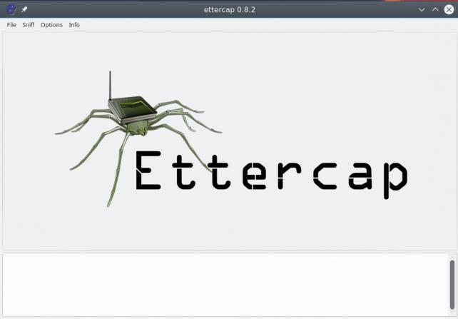 Ettercap GUI