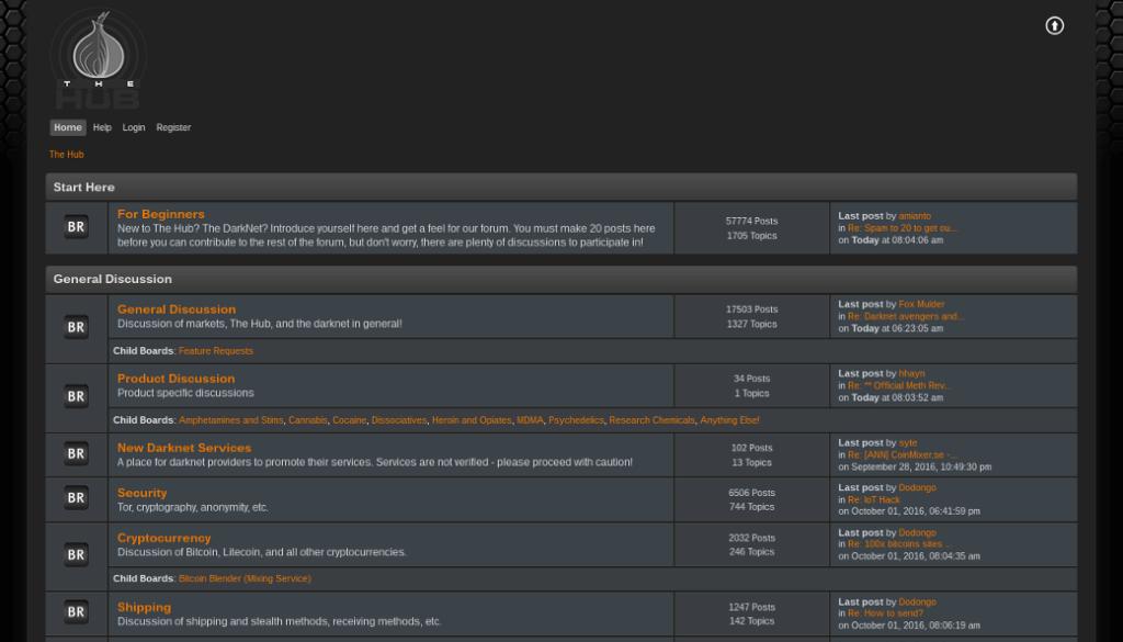 Deepweb forums