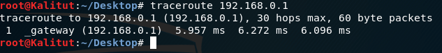 traceroute linux command
