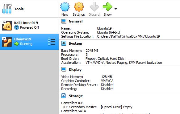 ubuntu 19