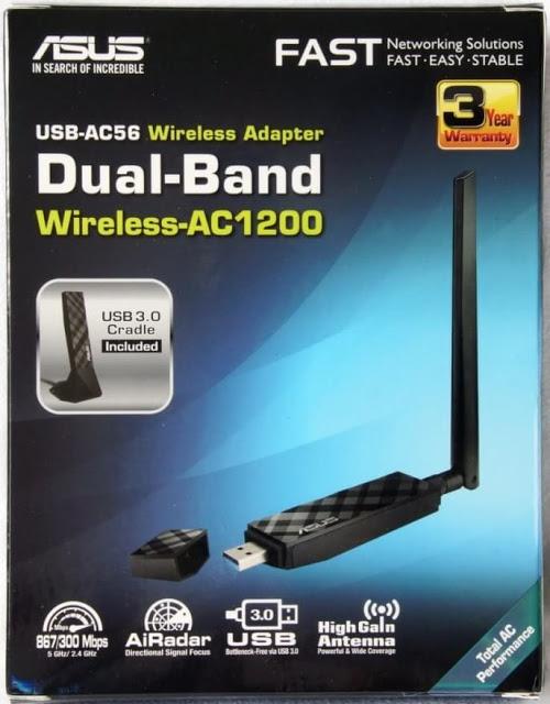 ASUS USB AC56 Review