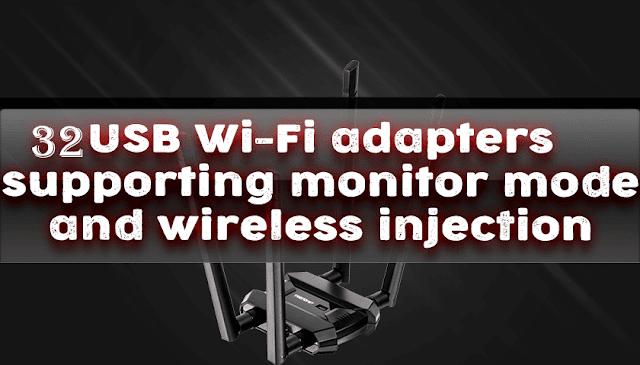 usb wifi adapter monitor mode